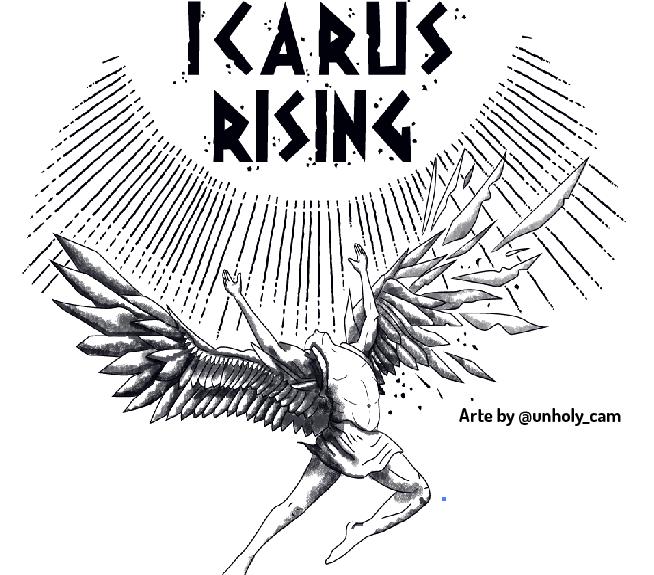 Ikarus Rising - Cerveja colaborativa Vadia, MOM e FMTG